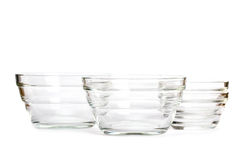 Glass bowls Stock Photography