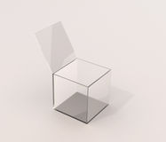Glass box Stock Image