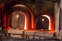 Glass brännugnar Arkivfoton