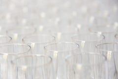 glass bröllop Arkivfoton