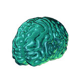 Glass brain Royalty Free Stock Image