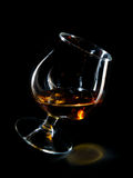 Glass of brandy Royalty Free Stock Photo