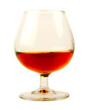 Glass of brandy Royalty Free Stock Images