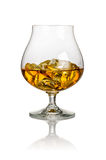 A glass of brandy Stock Photography