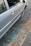 Glass breakage Stock Image