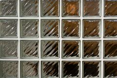 Glass brick Royalty Free Stock Image