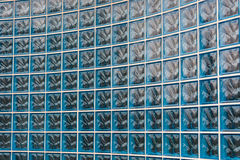 Glass brick background Royalty Free Stock Images