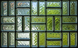 Glass brick panel texture Stock Photos