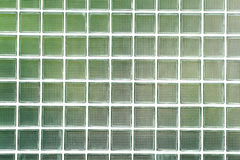 Glass brick wall Royalty Free Stock Image