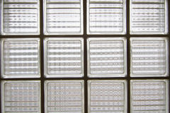 Glass brick wall Royalty Free Stock Photos