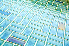 Glass brick wall Royalty Free Stock Image