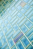 Glass brick wall Royalty Free Stock Photography