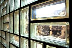 Glass brick wall Royalty Free Stock Photography