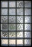 Glass Brick Window Royalty Free Stock Photos