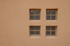 Glass brick window in wall Royalty Free Stock Photography