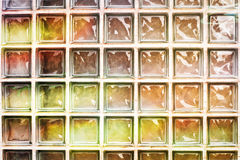 Glass bricks Royalty Free Stock Photo