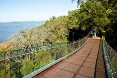 Glass Bridge - Perth - Australia Stock Photography