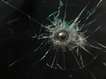 Glass  broken Royalty Free Stock Images