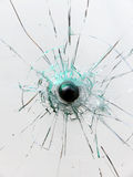 Glass Broken Stock Photography
