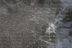 Glass  broken  shot Stock Photo