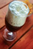 Glass of brown ale Royalty Free Stock Photography