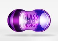 glass bubbladesign för techno 3d Royaltyfri Foto