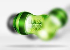 glass bubbladesign för techno 3d Royaltyfri Fotografi