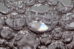 Glass bubbles Royalty Free Stock Image