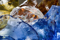 Glass bubbles Royalty Free Stock Images