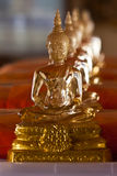 Glass Buddha statue Stock Images