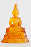 Glass Buddha statue Royalty Free Stock Photo