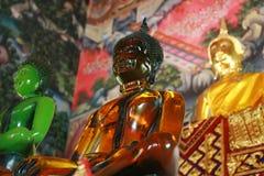Glass Buddha in Thailand. Glass Buddha in the church, Thailand Stock Photos