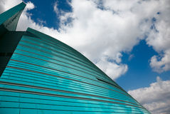 Glass building. Royalty Free Stock Photo