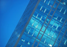 Glass building. New building with glass exterior stock photos