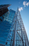 Sanomatalo, tall glass office building Royalty Free Stock Images