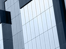 Glass Building. On Angle stock photography