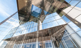 Glass building. Architecture in London Royalty Free Stock Photos