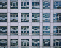 Glass building background Stock Images