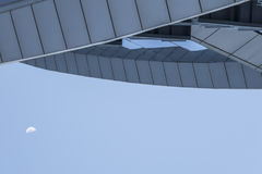 Glass building in Barcelona detail Stock Photography