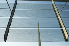 Glass building in Barcelona detail Royalty Free Stock Photo
