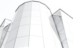 Glass building in black and white Stock Photo