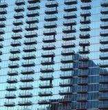 Glass Building in Buckhead, Atlanta Georgia. Reflective glass building in Buckhead District, Atlanta Georgia stock photography