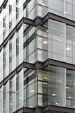 Glass Building Corner Stock Image