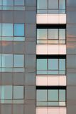 Glass building detail Stock Images
