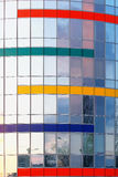 Glass building detail Royalty Free Stock Photography