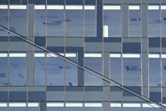 Glass building detail Stock Image