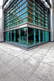 Glass Building. Exterior of hightech office building Royalty Free Stock Photo