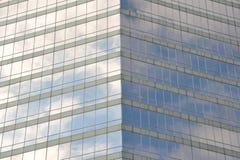 Glass building facade Royalty Free Stock Photo