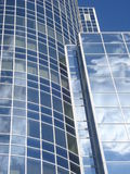 Glass building facade details Stock Photos