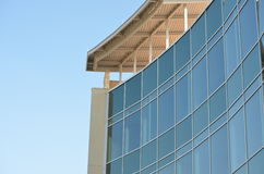 Glass building on Linkside Dr Stock Photo